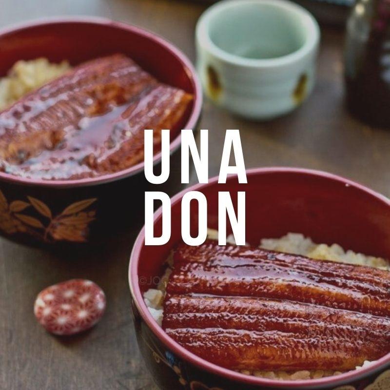 Унадон - рецепт японского боула с угрем