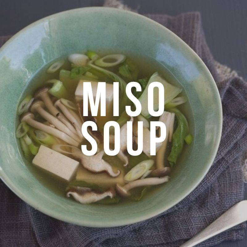 Рецепт мисо супа с тофу и грибами