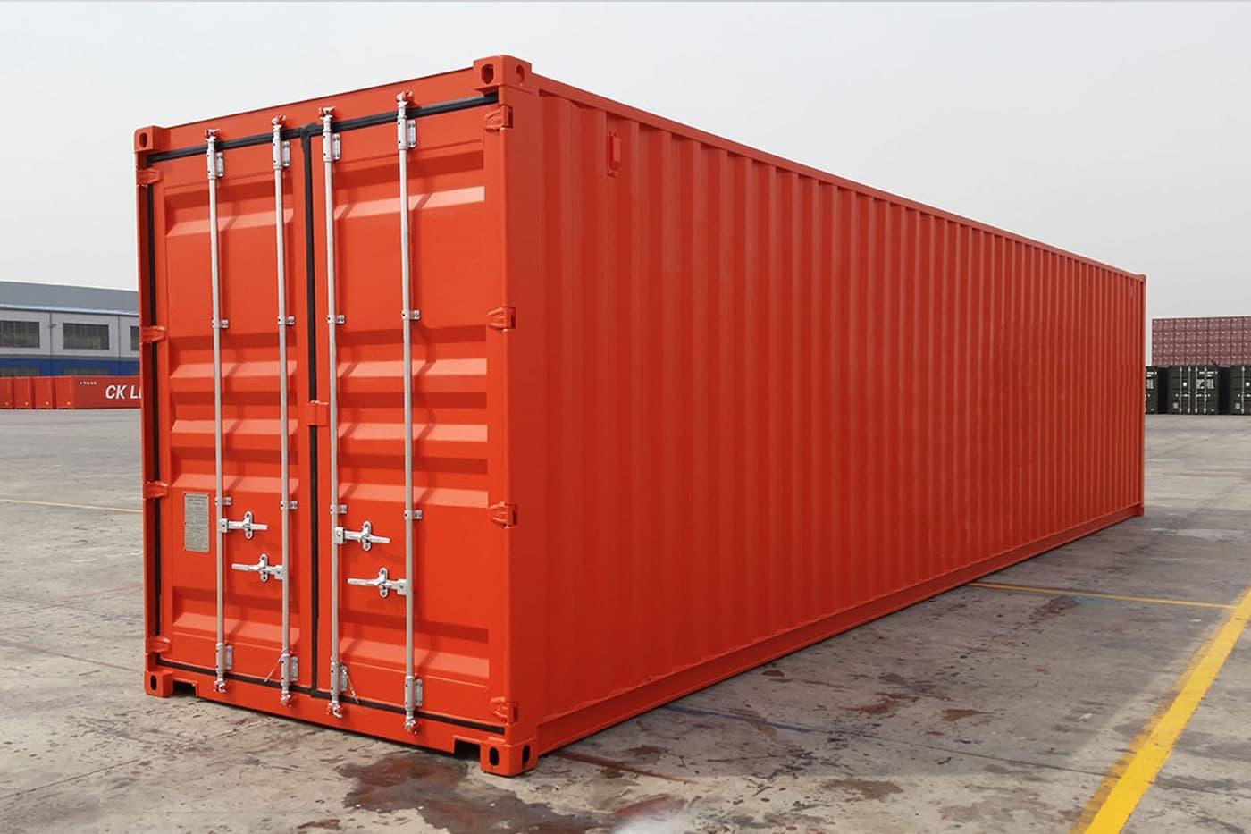 новый контейнер
