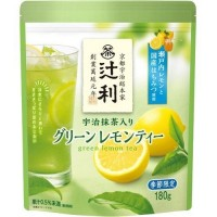Зеленый чай матча удзи Kataoka Green Lemon Tea с лимоном, 180 г, Япония