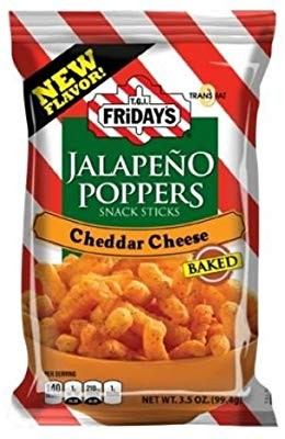 Палочки Friday's Jalapeno Poppers с халапеньо и сыром чеддер, 99г, США