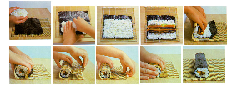 Фото роллы своими руками в домашних условиях с пошаговым рецептом