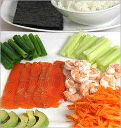 Хозяйкам и любительницам суш и роллов на заметку рецепт темаки-суши Темаки-суши отличаются от обычн... - 2
