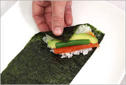 Хозяйкам и любительницам суш и роллов на заметку рецепт темаки-суши Темаки-суши отличаются от обычн... - 6
