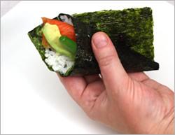 Хозяйкам и любительницам суш и роллов на заметку рецепт темаки-суши Темаки-суши отличаются от обычн... - 7