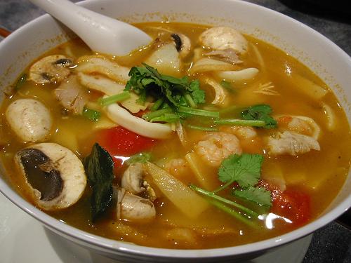Рецепт супа с белыми грибами и курицей