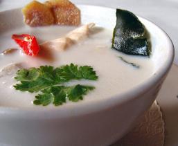 суп том кха рецепт с кокосовым молоком