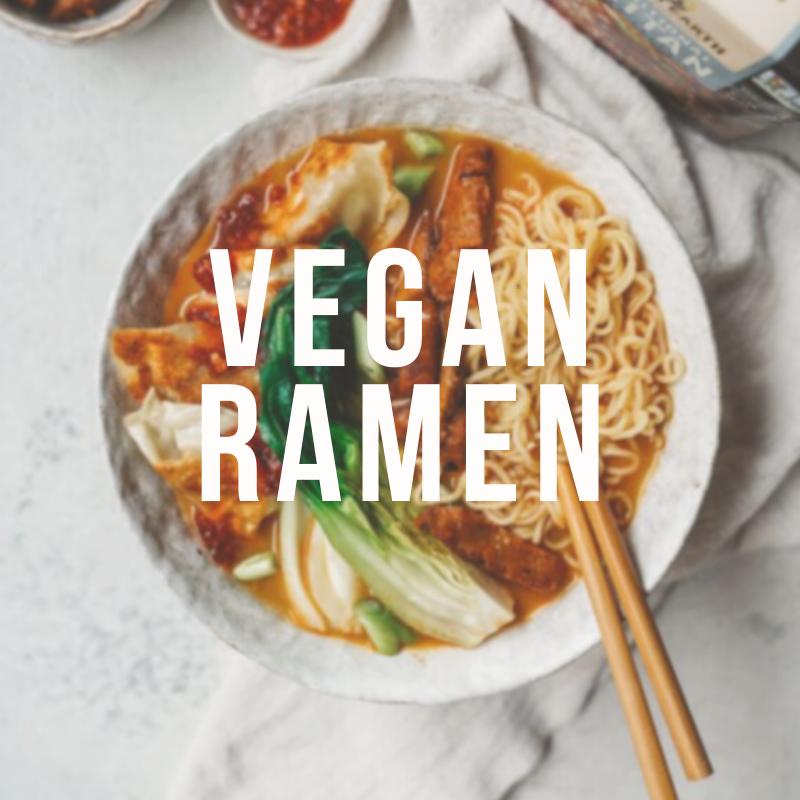 Веган рамэн - новая версия супа