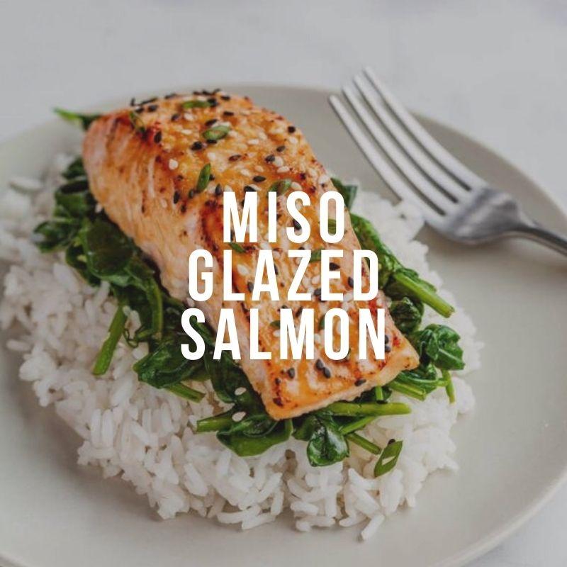 Глазированный мисо лосось