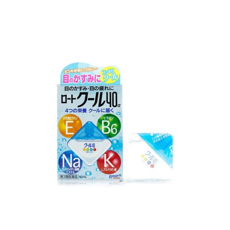 f8b5ebd4ca1c Купить Капли витаминизированные для глаз Rohto Vita 40 Alfa Cool ...
