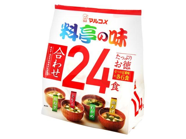 Купить Мисо-суп Marukome 24 порции, Япония  по цене 709 руб.