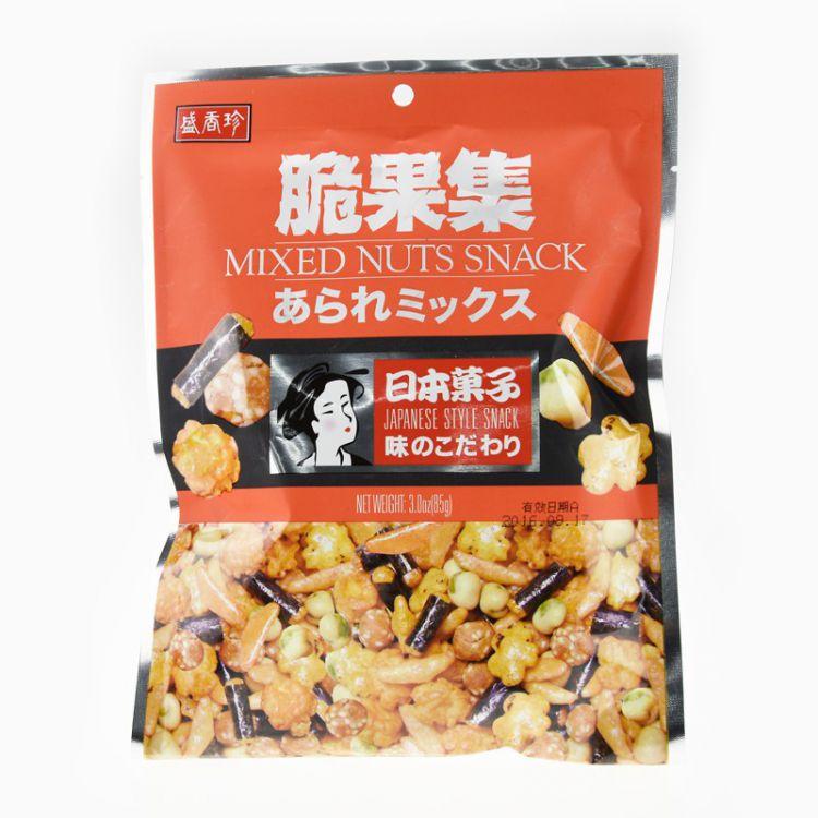 Купить Микс орехов и снеков Микус, Тайвань, 85г по цене 229 руб.