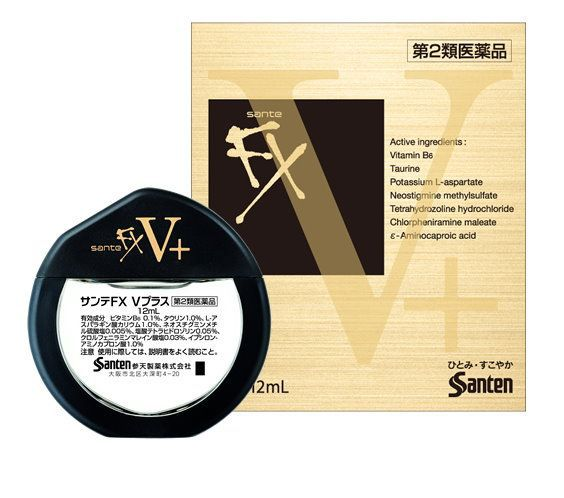 42607670466c Купить Японские капли для глаз Santen FX V+ по цене 1 022 руб.