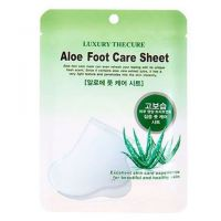 Маска для ног с экстрактом алоэ Aloe Foot Care Sheet, 8мл*2