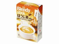 Чай Ходзича Латте AGF Blendy в стиках, 70г, Япония